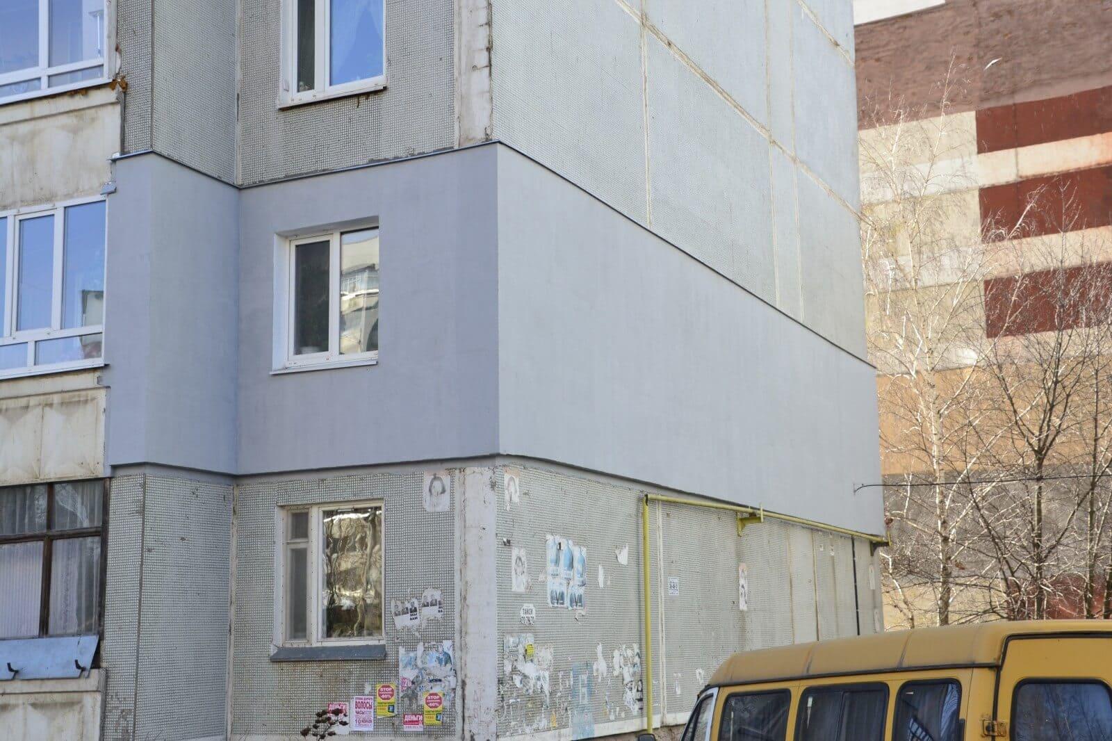 Штукатурка фасада дома по утеплителю